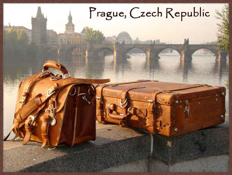 A picture of a Saddleback briefcase and